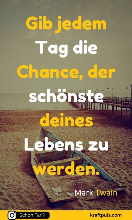 Pulszitate: Chance #zitate #deutsch #leben