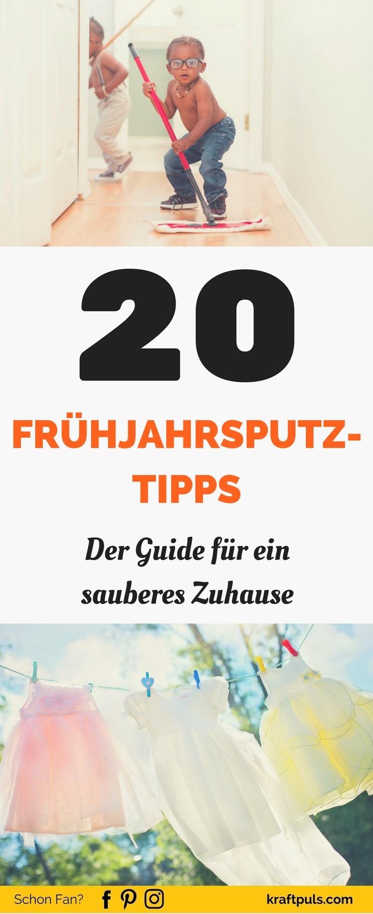 Der Guide für ein sauberes Zuhause #putzen #checkliste #plan #deutsch